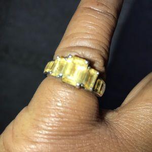 Topaz .925 Sterling Silver Ring